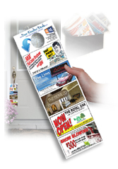 Click here to find out how to get your ad in the hands of thousands with doorknockerdeals.com call 613-799-4367