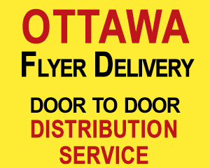 print and distribution - door to door flyer delivery to 20000 homes in Ottawa, The Print Guy, call 613-799-4367