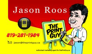 Jason Roos marketing agent for theprintguy.ca, Flyer Specials, design, print, distribution, call The Print Guy 613-799-4367, door to door flyer delivery in Ottawa, direct mail, direct marketing, mailout, mail-out, Canada Post, post office